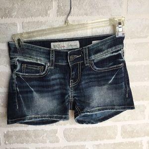 BKE Denim Sabrina shorts size 23 Like New